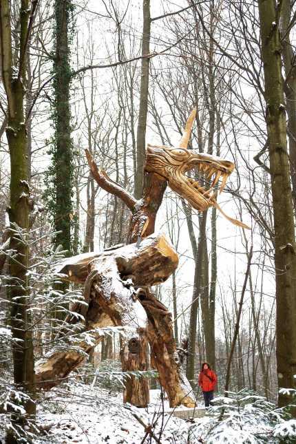 der Drachen - Skulpturenpfad WaldMenschen