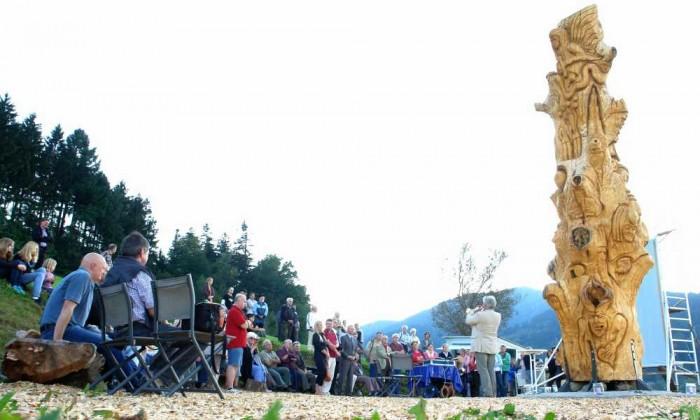 Einweihungsfeier, Baum der Erkenntnis, Freiburg-Kappel, thomas rees