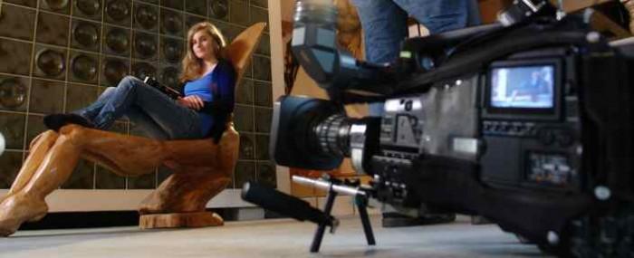 Fernsehaufnahmen Landesschau Kultur, thomas rees