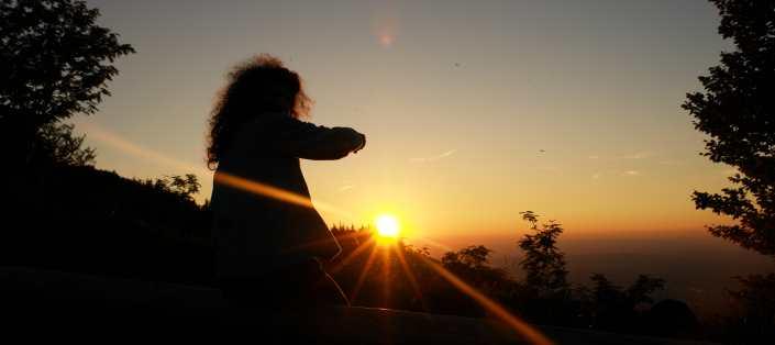 Sonnenuntergang Schauinsland, thomas rees