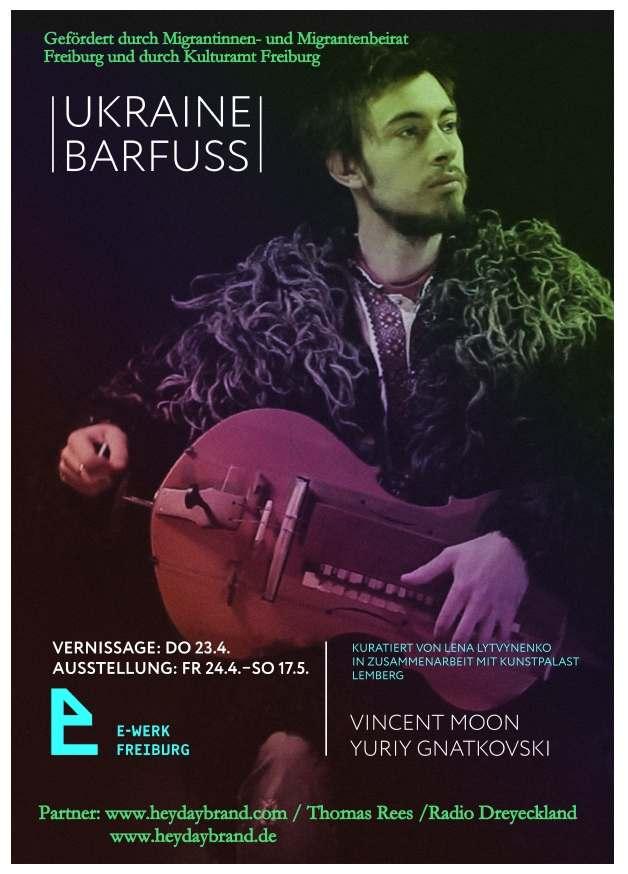 Ukraine barfuss Plakat k
