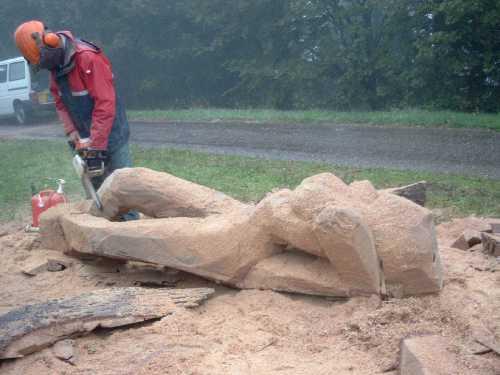 thomas rees auf dem Schauinsland, Entstehung der Regenfrau