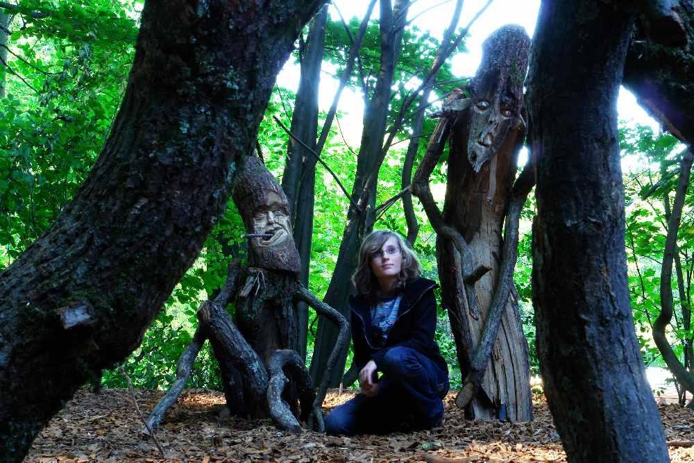 Baumtanz, Skulpturenpfad WaldMenschen, thomas rees