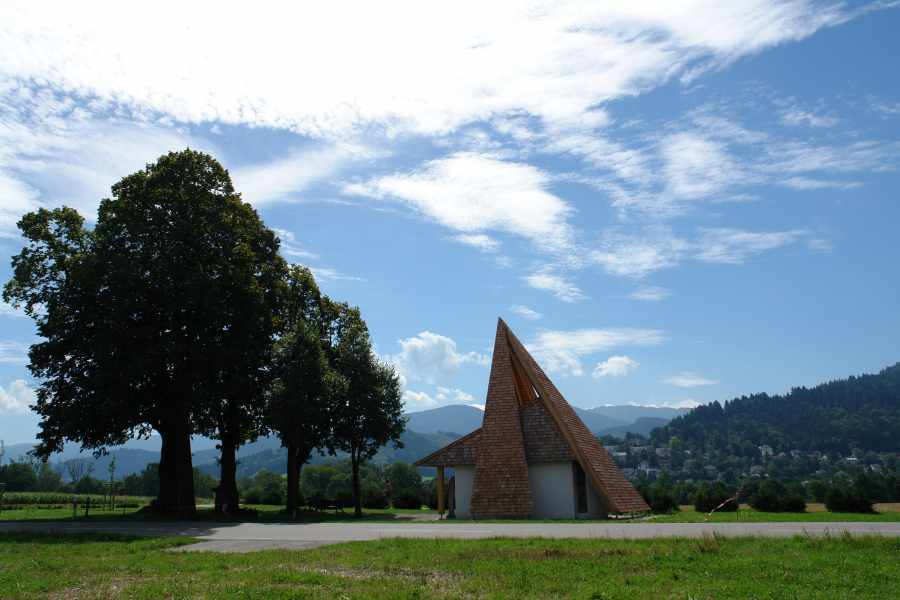 dia Anna-Kapelle in Freiburg-Ebnet