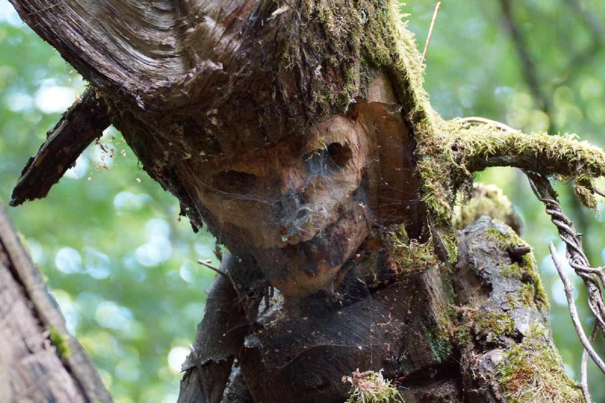 Skulpturenpfad WaldMenschen, der Vierte Reiter,, thomas rees