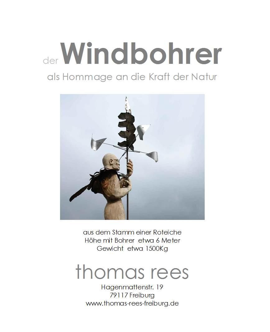 der Windbohrer, Schauinsland, thomas rees