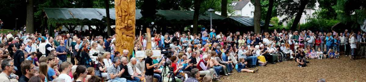 Mittelalterfest um die Bundschuheiche in Freibur-Lehene, thomas rees 11