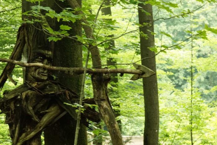 Einhorn und Jäger