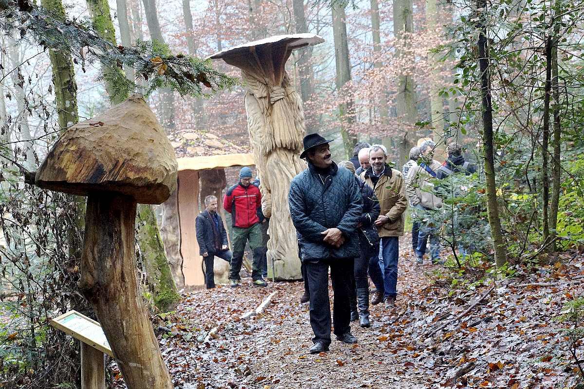 Mycelium, Einweihung, thomas rees 24