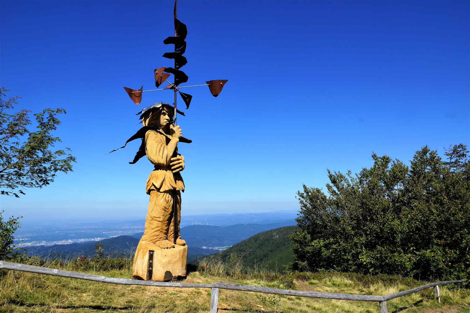 der Windbohrer auf dem Schauinsland im September 2019