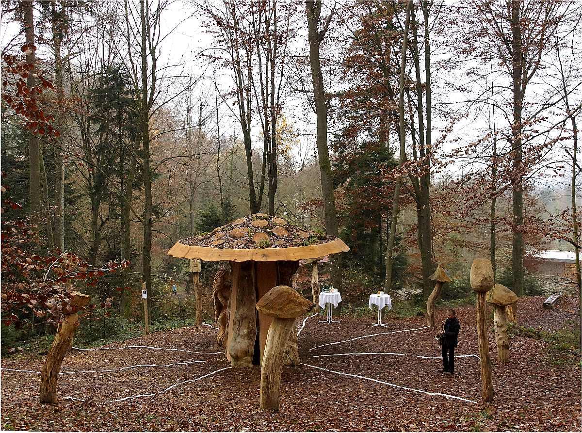 Mycelium, Einweihung, thomas rees 02